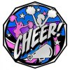 Cheer  Decagon Colored Medallions