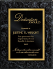 Valurite Black Classic Plaque Recognition Plaques