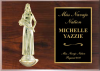 Classic Figure Plaque Sports and Academic Plaques