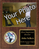 Photo Plaque with Activity Insert Sports and Academic Plaques