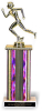 Figure and Column on Marble Base Valuerite Trophies | Economy Trophies