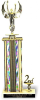 Figure and Column with trim on Marble Base Valuerite Trophies | Economy Trophies