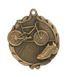 Wreath Triathlon Medal All Trophy Awards
