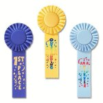 Fun Rosette Award Ribbon Basketball Trophy Awards