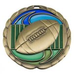 Football  CEM Epoxy Medallions