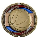 Basketball CEM Epoxy Medallions