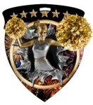 Cheer Cheerleading Medallions