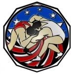 Wrestling  Decagon Colored Medallions