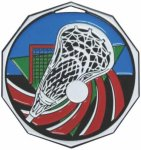 Lacrosse Decagon Colored Medallions