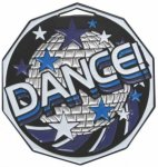 Dance Decagon Colored Medallions