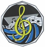 Music  Decagon Colored Medallions