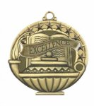 Excellence  Education/Lamp of Knowledge Medallions