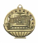 Honor  Education/Lamp of Knowledge Medallions