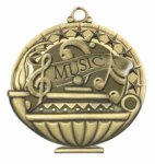 Music  Education/Lamp of Knowledge Medallions