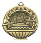 Citizenship  Education/Lamp of Knowledge Medallions