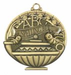 Spelling Bee  Education/Lamp of Knowledge Medallions