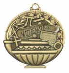 Mathematics  Education/Lamp of Knowledge Medallions
