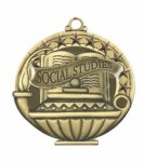 Social Studies  Education/Lamp of Knowledge Medallions