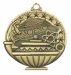 Science  Education/Lamp of Knowledge Medallions