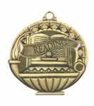 Reading Education/Lamp of Knowledge Medallions