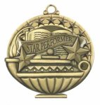 Star Performer Education/Lamp of Knowledge Medallions