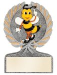 Spelling Bee Multi Color Sport Resin Figure Education Themed Resins