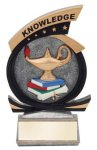 Gold Star Knowledge Award Education Themed Resins