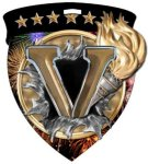 Victory  Full Color Burst Medallions