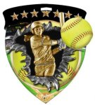Softball  Full Color Burst Medallions