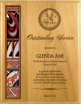 Alder Native Heritage Plaque Native Heritage Awards