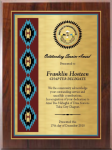 Gold Series Native Heritage Plaque Native Heritage Awards