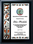 Traditional Native Heritage Plaque Native Heritage Awards