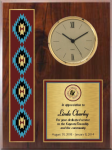 Gold Series Native Heritage Clock Native Heritage Plaques