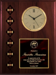Cherry Finish Native Heritage Clock Native Heritage Plaques