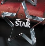 Tapered Star Patriotic Awards