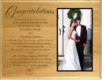 Laser Etched Aldert Plaque With Full Color Photo Photo Plaques