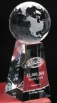 Tapered Globe Sales Awards