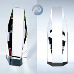 Octagon-Clear/ Color Sales Awards