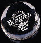 Dome Paper Weight Secretary Gift Awards