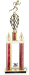 Two Column Trophy on Marble Base Valuerite Trophies | Economy Trophies