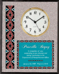 Granite Native Heritage Clock Wall Clocks