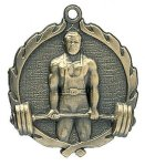 Wreath Male Weightlifting Medals Wreath Awards