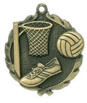 Wreath Netball Medals Wreath Awards