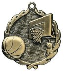 Wreath Basketball Medals Wreath Awards