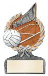Volleyball Multi Color Sport Resin Figure Wreath Awards