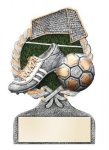 Soccer Multi Color Sport Resin Figure Wreath Awards